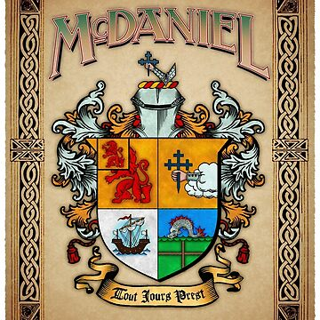 McDaniel coat of arms by amcdanny