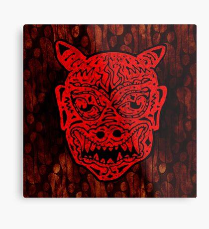 Handsome Devil Mask #1 Metal Print