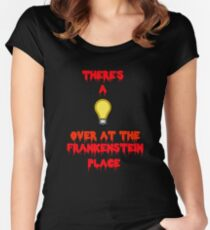 There's a Light (T-Shirt & Sticker) Women's Fitted Scoop T-Shirt