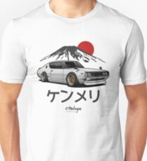 Skyline GTR Kenmeri (white) Slim Fit T-Shirt