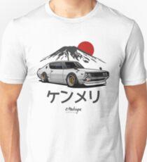 Skyline GTR Kenmeri (weiß) Slim Fit T-Shirt