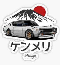 Skyline GTR Kenmeri (white) Sticker