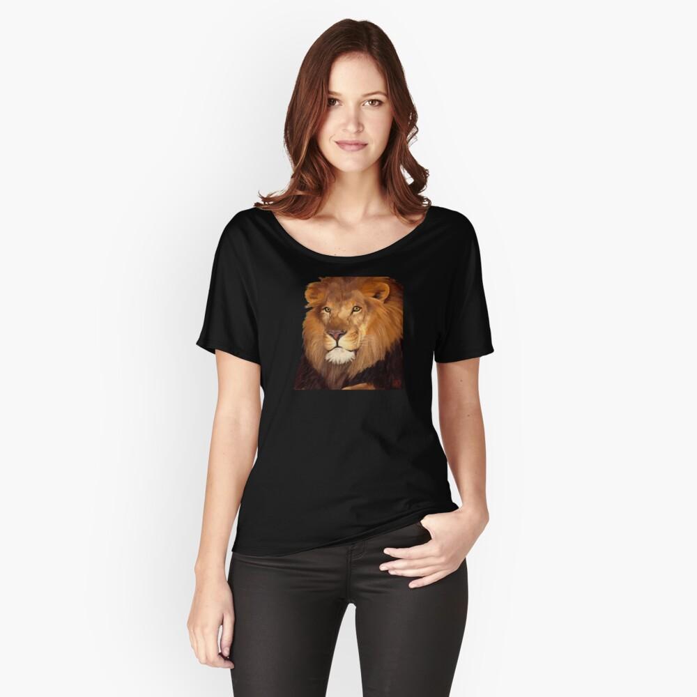 León Camiseta ancha