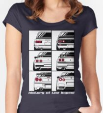 Skyline. History Women's Fitted Scoop T-Shirt