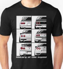 Camiseta ajustada Horizonte. Historia
