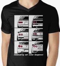 Skyline. History Men's V-Neck T-Shirt