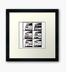 Skyline. History Framed Print