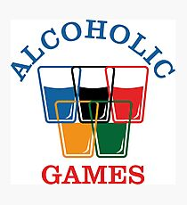 Alcoholic Games Photographic Print
