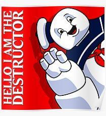 Hello I Am the Destructor Poster