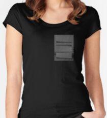 op art Women's Fitted Scoop T-Shirt