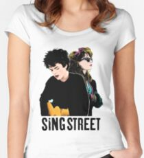 Sing Street Women's Fitted Scoop T-Shirt