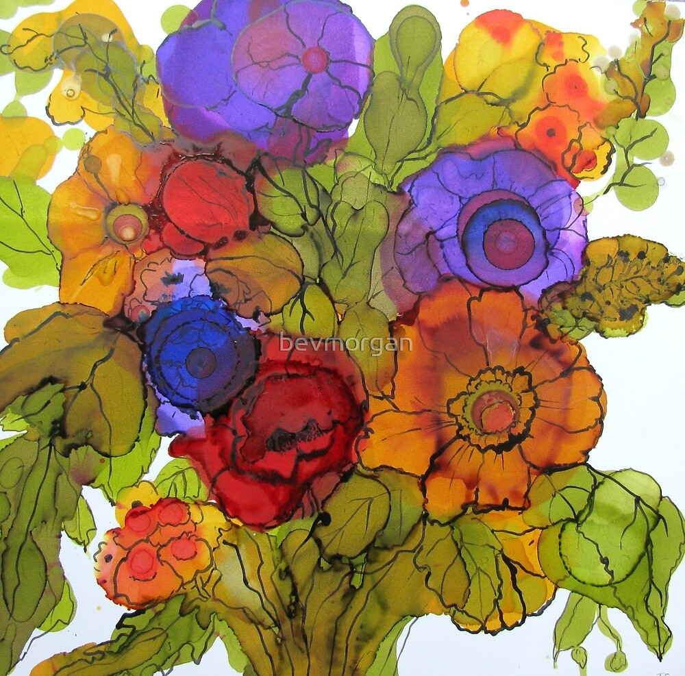 Bursting with Joy by bevmorgan