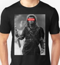 BRAVEHEART - freedom obey Unisex T-Shirt
