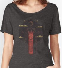 The Crimson Tower Women's Relaxed Fit T-Shirt