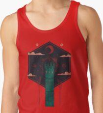 The Crimson Tower Tank Top