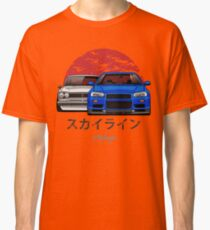 Nissan Skyline (R34 & Hakosuka) Classic T-Shirt