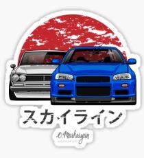 Skyline (R34 & Hakosuka) Sticker