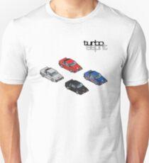 8 bit Lotus Esprit Turbo Pixel (black logo)  T-Shirt