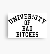 Lienzo Universidad de Bad Bitches