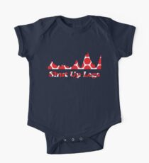 Shut Up Legs Red Polka Dot Mountain Profile Kids Clothes