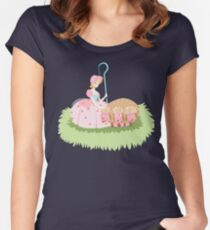 Little Bo Peep Women's Fitted Scoop T-Shirt