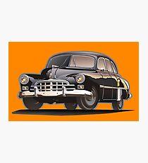Retro limousine Photographic Print