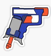 NERF TOY DESIGN- MINIMALIST Sticker