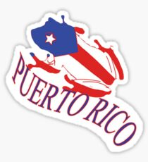 Puerto Rico Coqui  Sticker