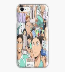 Haikyuu!! Iwaizumi Hajime Collage iPhone Case/Skin