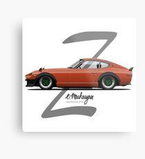280Z (orange) Metal Print