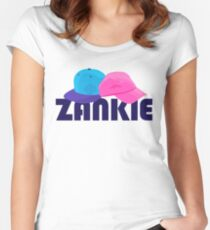 Zankie Women's Fitted Scoop T-Shirt