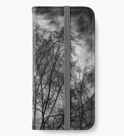 Neural Network - Black Edition (iPhone wallet) iPhone Wallet