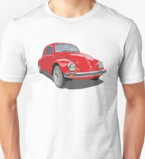 Rote Wanze Unisex T-Shirt