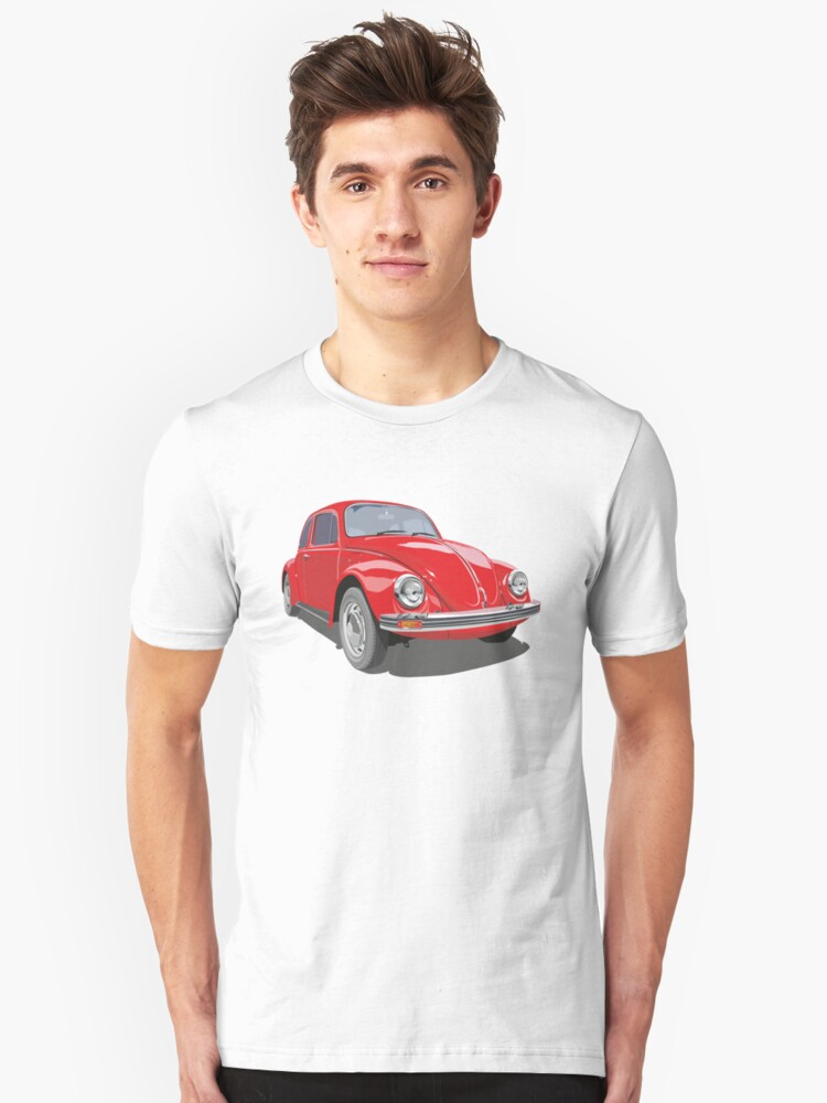 Red Bug Unisex T-Shirt Front