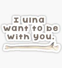 Ulna Bone Pun  Sticker