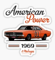 Charger 69 General Lee Sticker