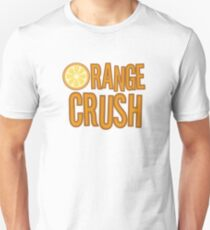 Orange Crush REM Song Lyrics Rock Music Fruit T-Shirt