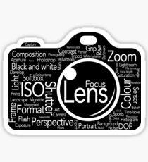 Photographers Vocab Sticker