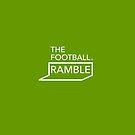 Ramble logo white on green – bag by The Football Ramble