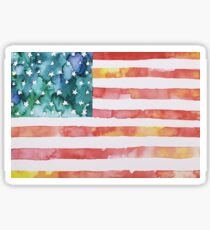 Beautiful USA  Sticker