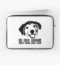 Dog Beer Funny T shirt Quote Animals Drunk Alcohol Cool Joke Laptop Sleeve