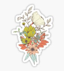 Botanical pattern 009 Sticker