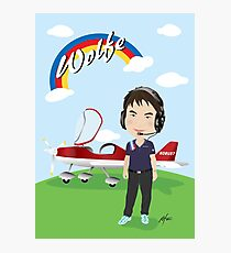 aircraft pilot Photographic Print