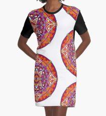 Mandala 005 Graphic T-Shirt Dress