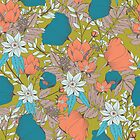 Botanical pattern 013 by BlueLela