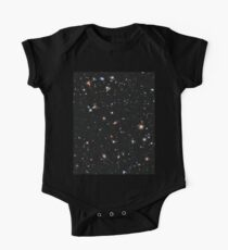 Hubble, COSMOS, Nasa, Extreme Deep Field image, space, constellation, Fornax One Piece - Short Sleeve