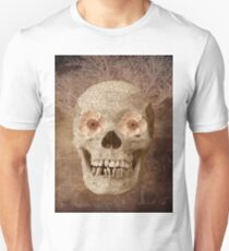 Skull Vintage Collage Unisex T-Shirt