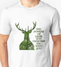 Herne der Jäger - Kräfte Unisex T-Shirt