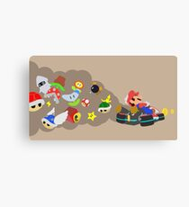 Mario Kart Item fury  Canvas Print