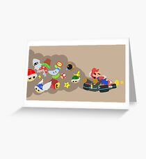 Mario Kart Item fury  Greeting Card